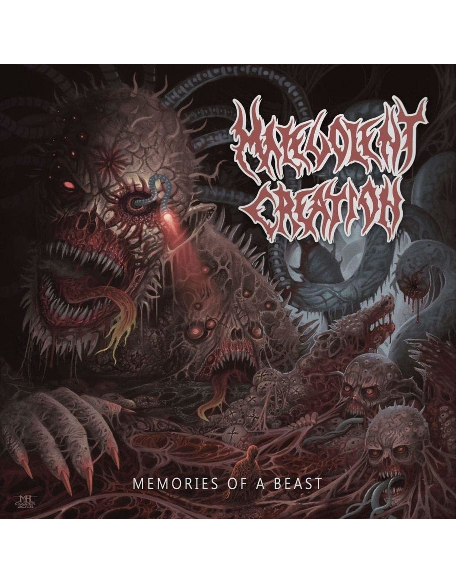 New Vinyl Melavolent Creation - Memories Of A Beast LP