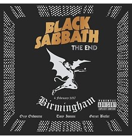 New Vinyl Black Sabbath - The End (Colored) 3LP