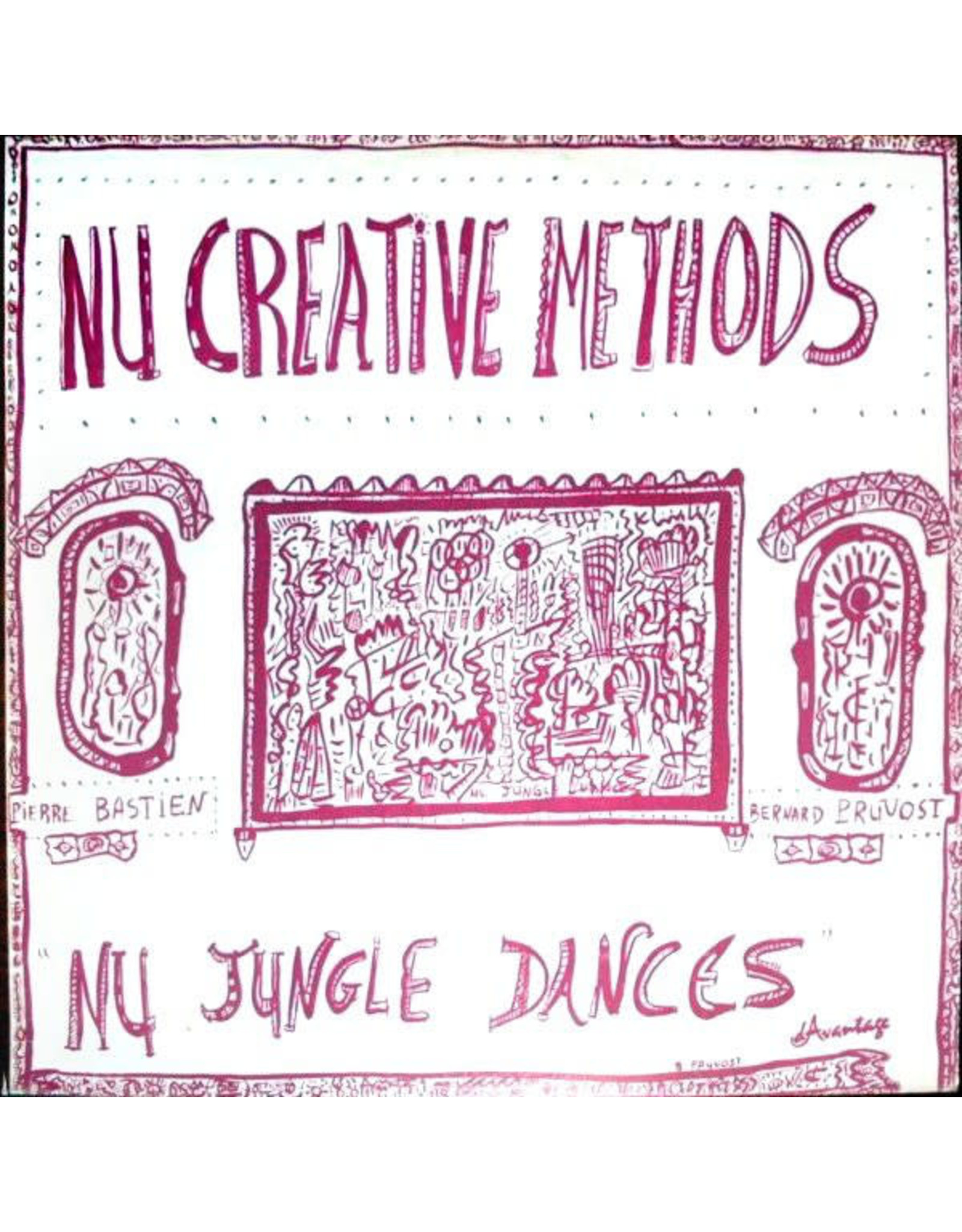 New Vinyl Nu Creative Methods - Nu Jungle Dances LP