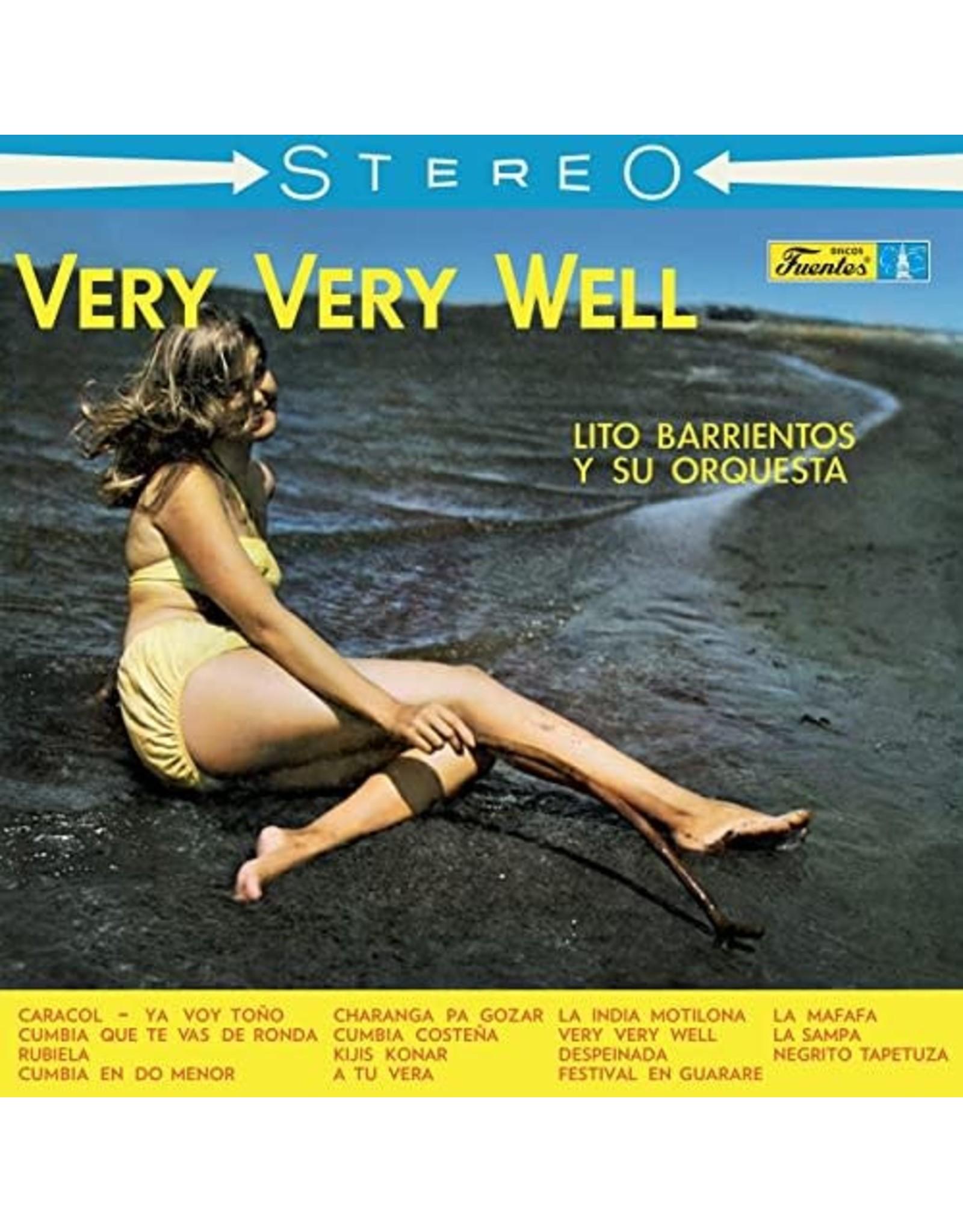 New Vinyl Lito Barrientos Y Su Orquesta - Very Very Well LP