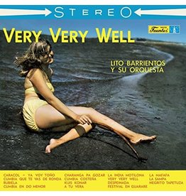 New Vinyl Lito Barrientos Y Su Orquesta - Very Very Well LP