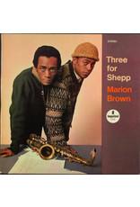 New Vinyl Marion Brown - Three For Shepp LP