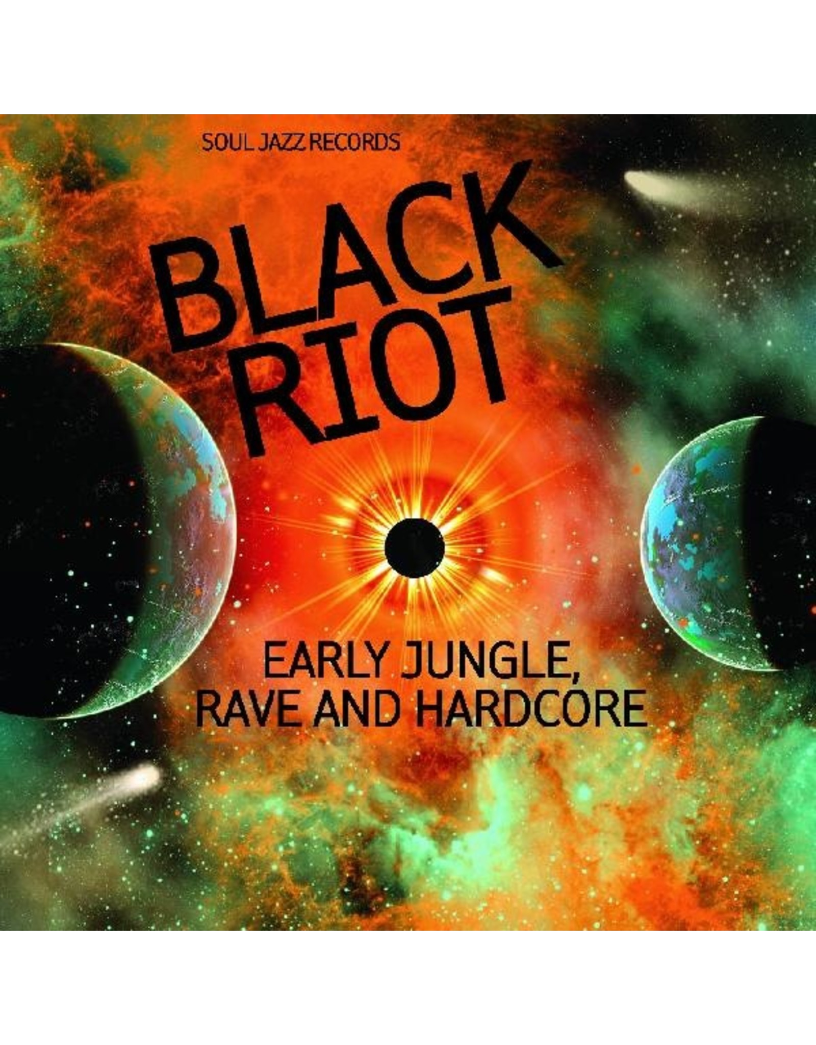 New Vinyl Various - Black Riot: Early Jungle, Rave And Hardcore 2LP