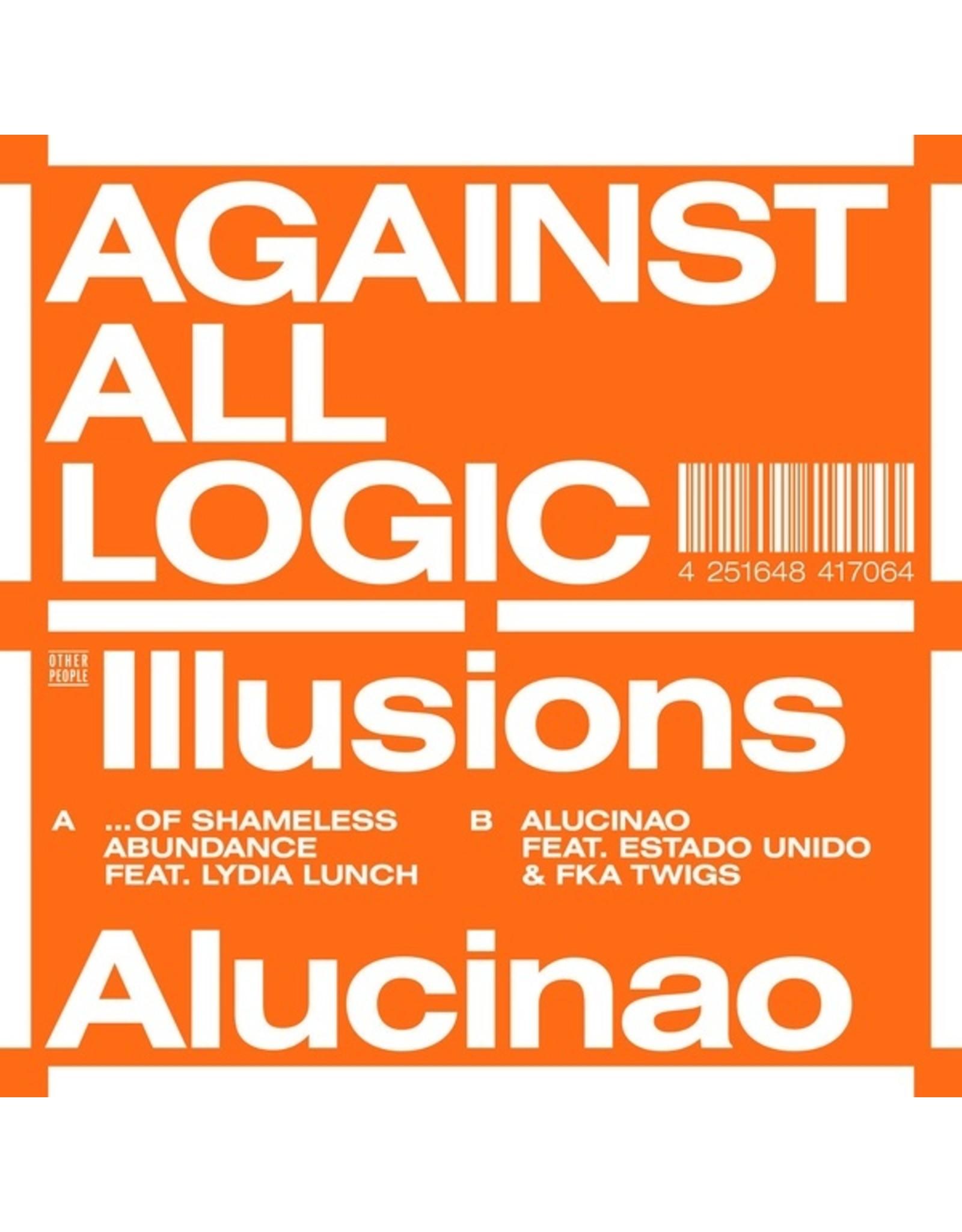 """New Vinyl Against All Logic - Illusions Of Shameless Abundance/Alucinao 12"""""""