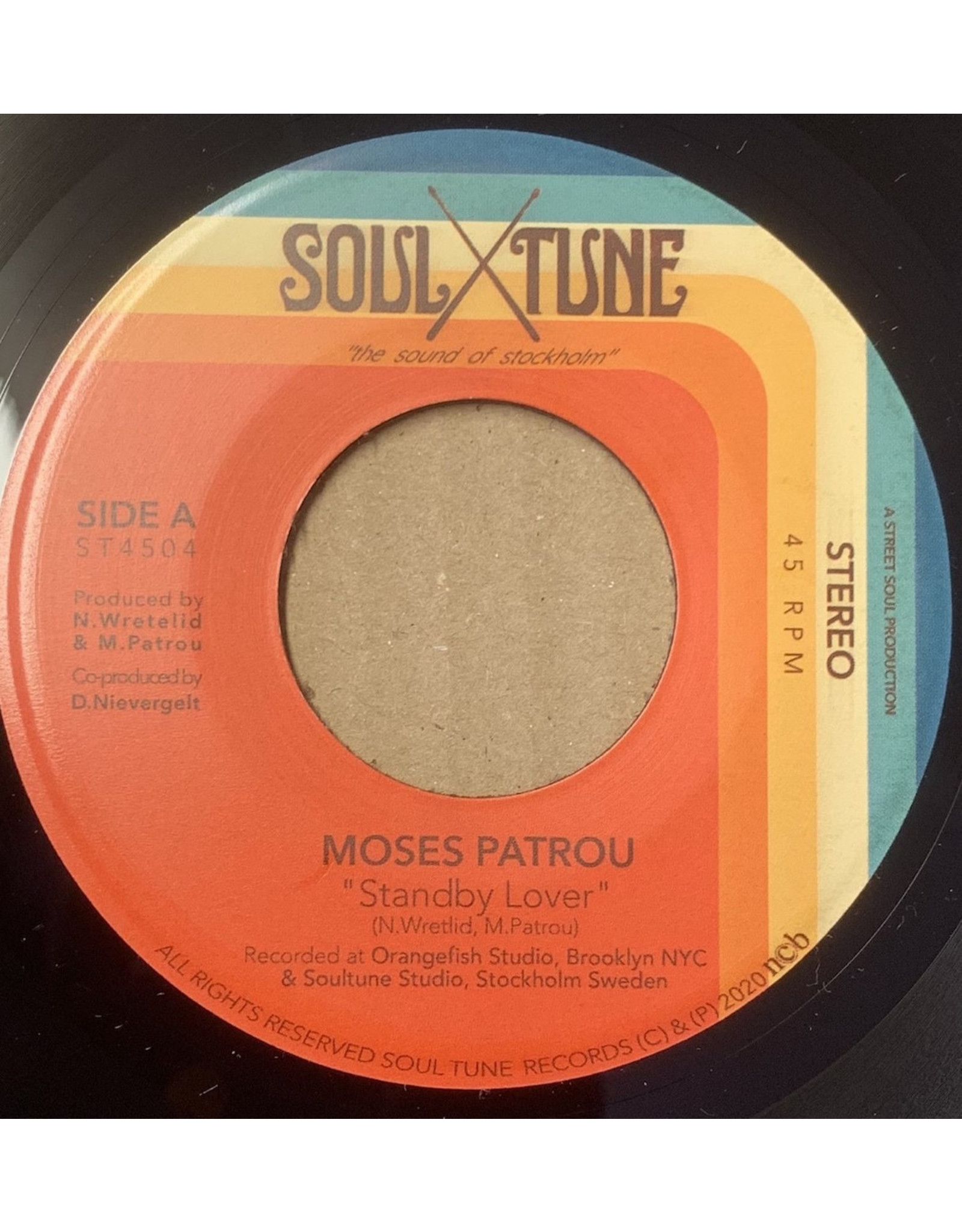New Vinyl Moses Patrou - Standby Lover b/w Good Enough 7""