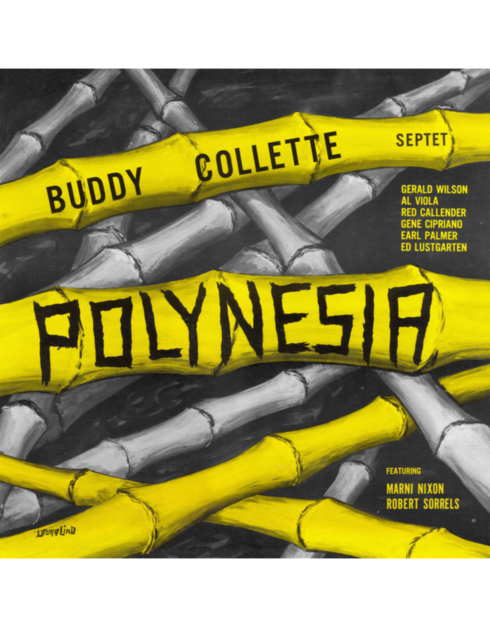 New Vinyl Buddy Collette Septet - Polynesia LP
