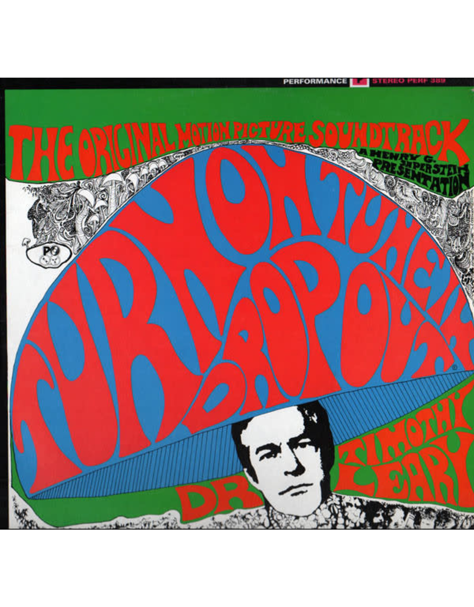 New Vinyl Timothy Leary - Turn On, Tune In, Drop Out! LP