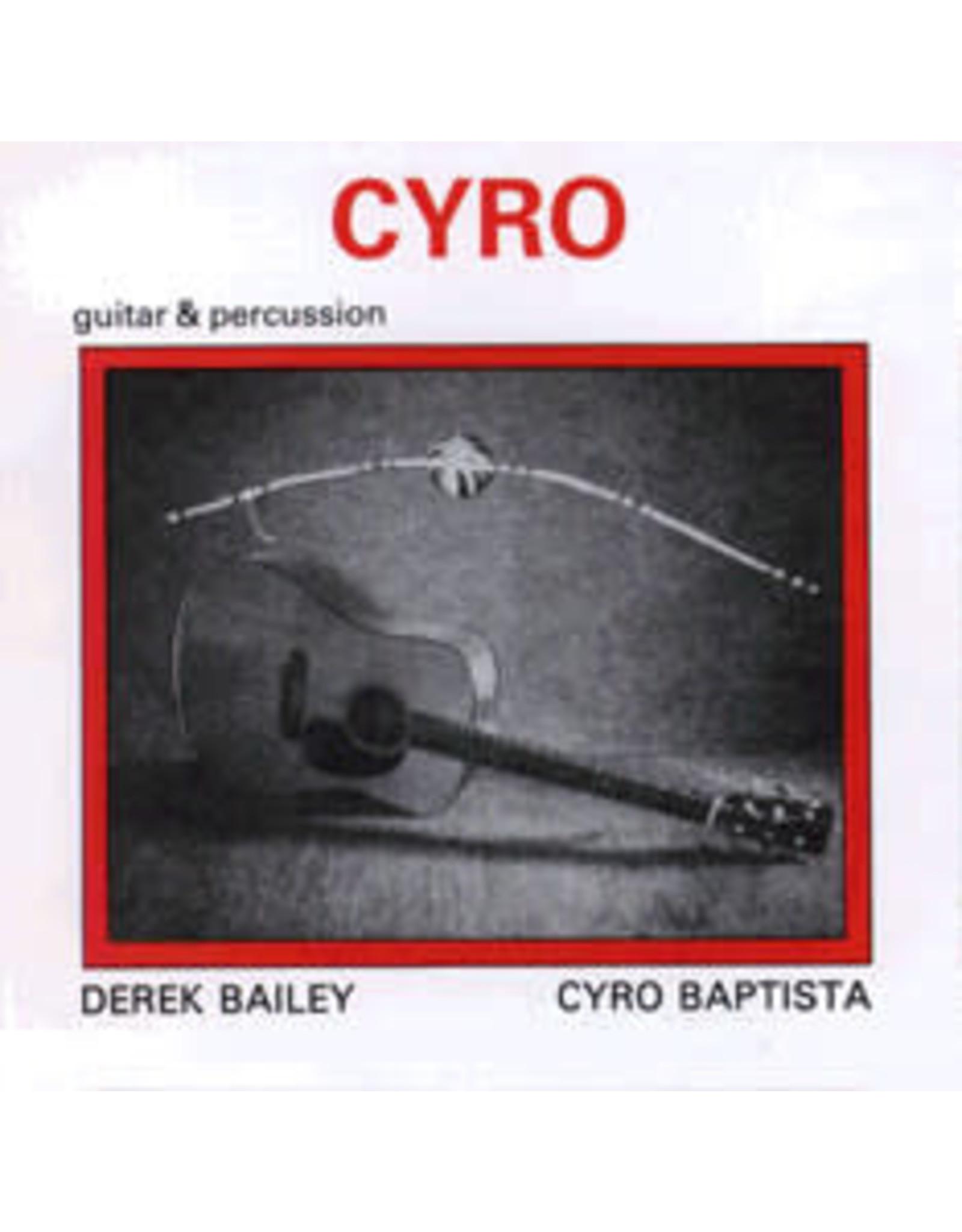 New Vinyl Derek Bailey / Cyro Baptista - Cyro 2LP