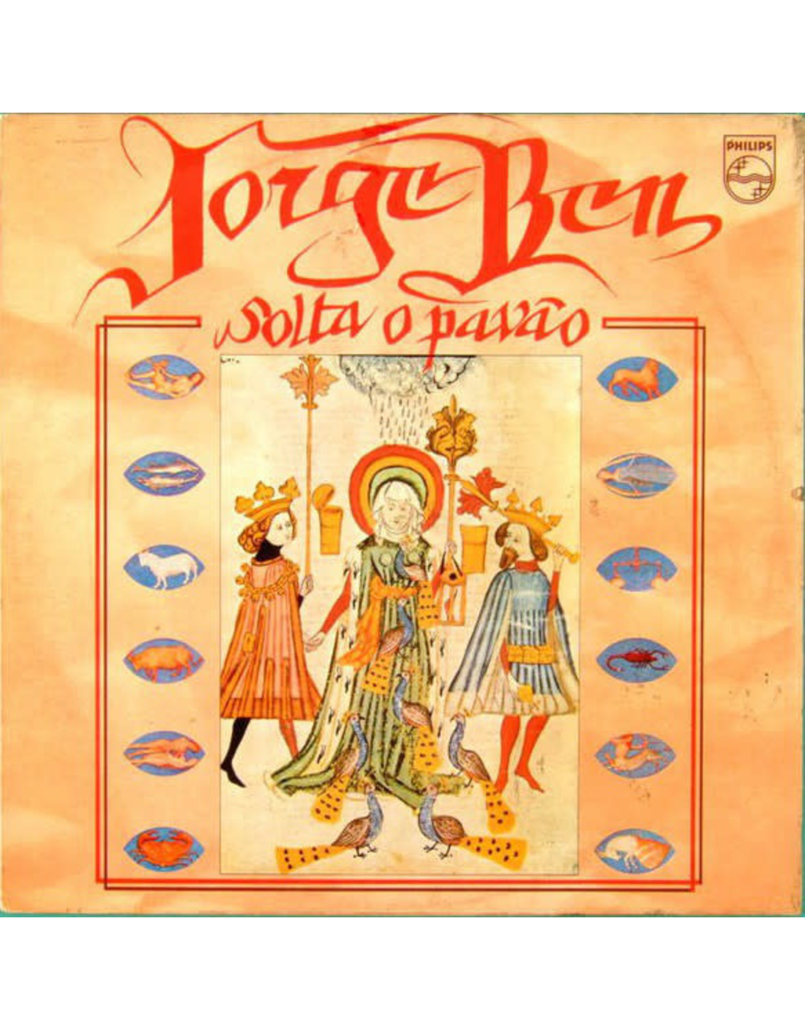 New Vinyl Jorge Ben - Solta O Pavao LP