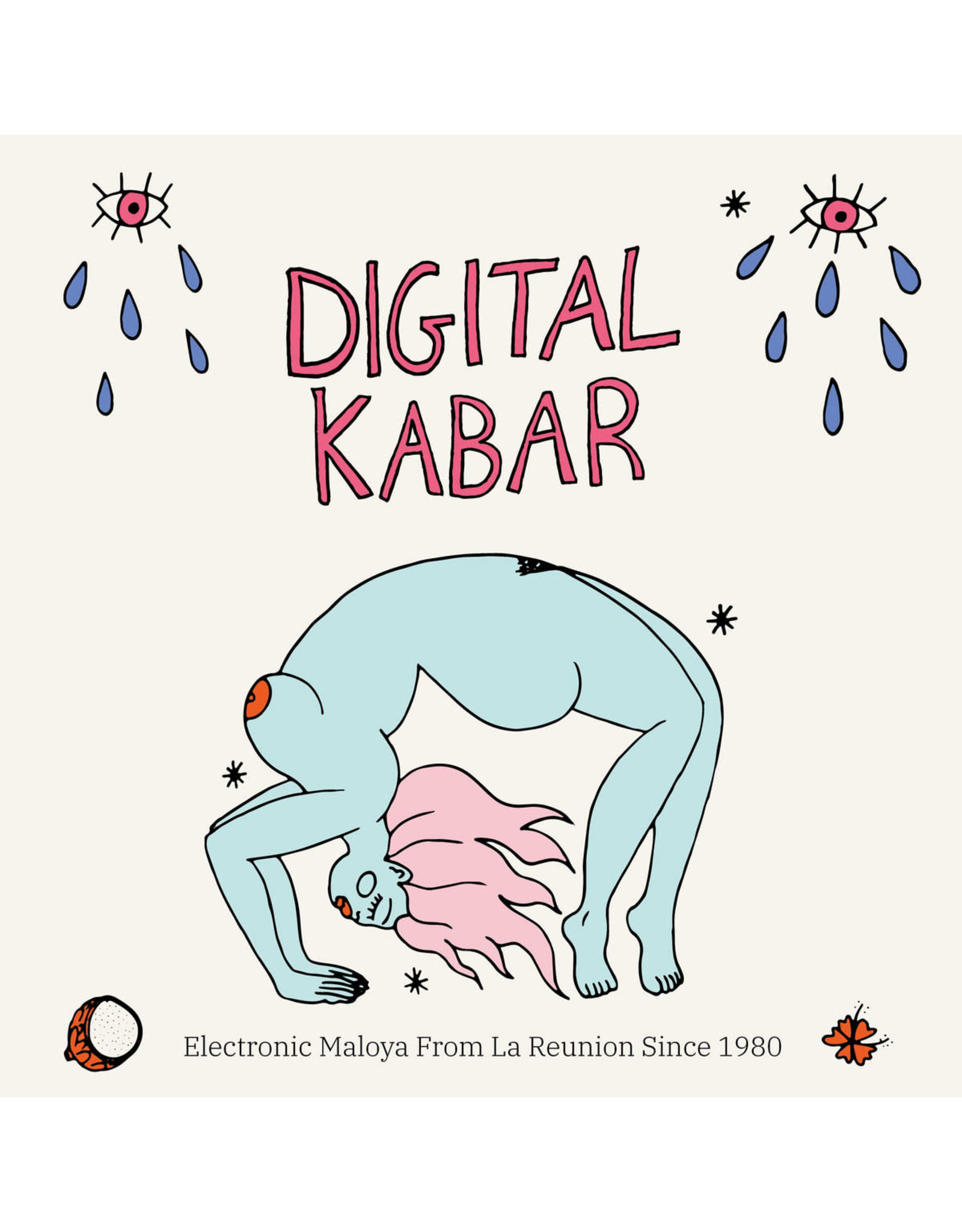 New Vinyl Various - Digital Kabar: Electric Maloya From La Reunion Since 1980 2LP