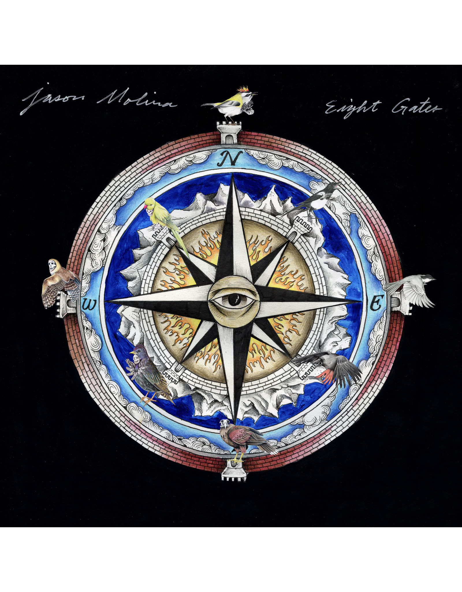 New Vinyl Jason Molina - Eight Gates (Colored) LP