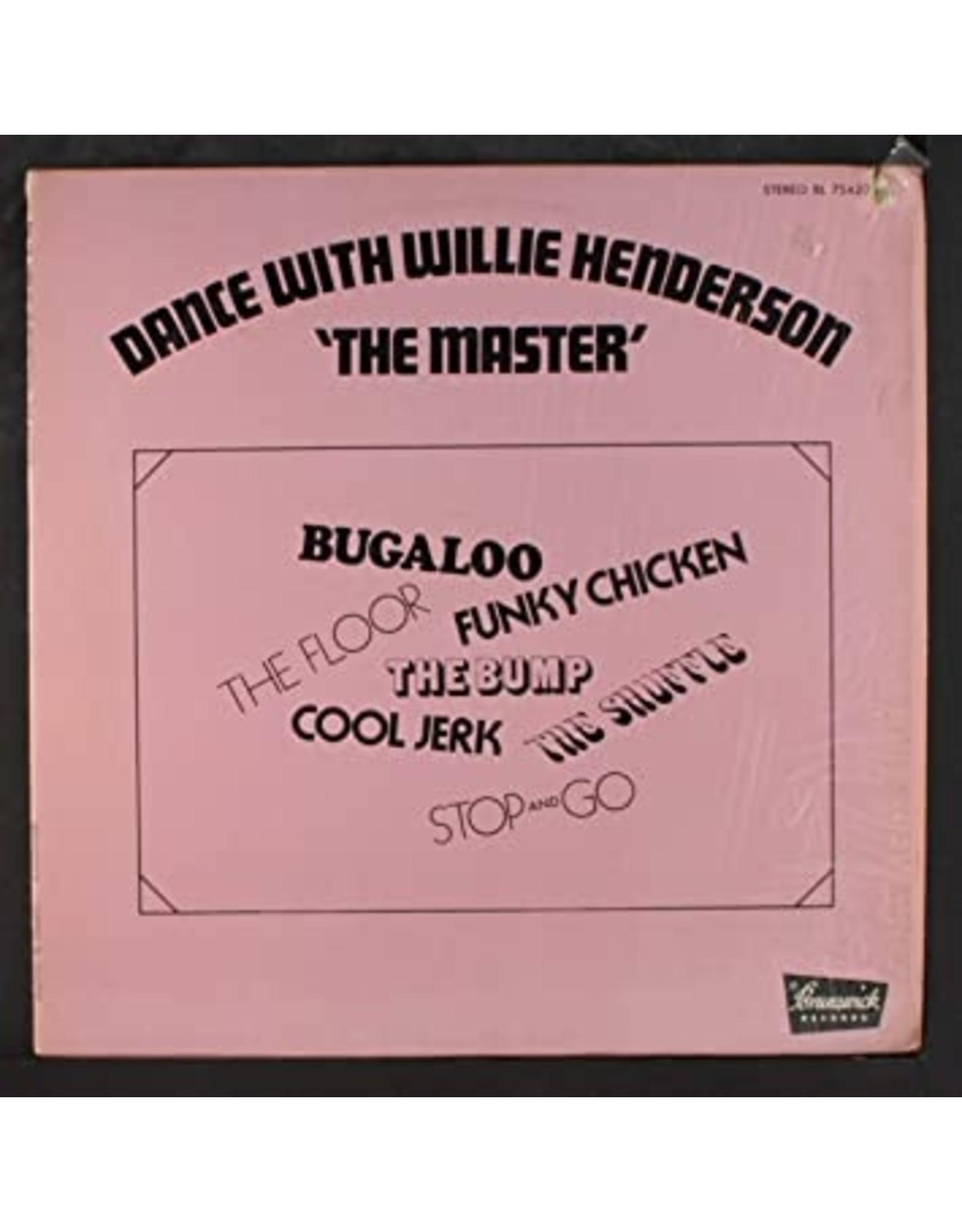 New Vinyl Willie Henderson - Dance With The Master LP