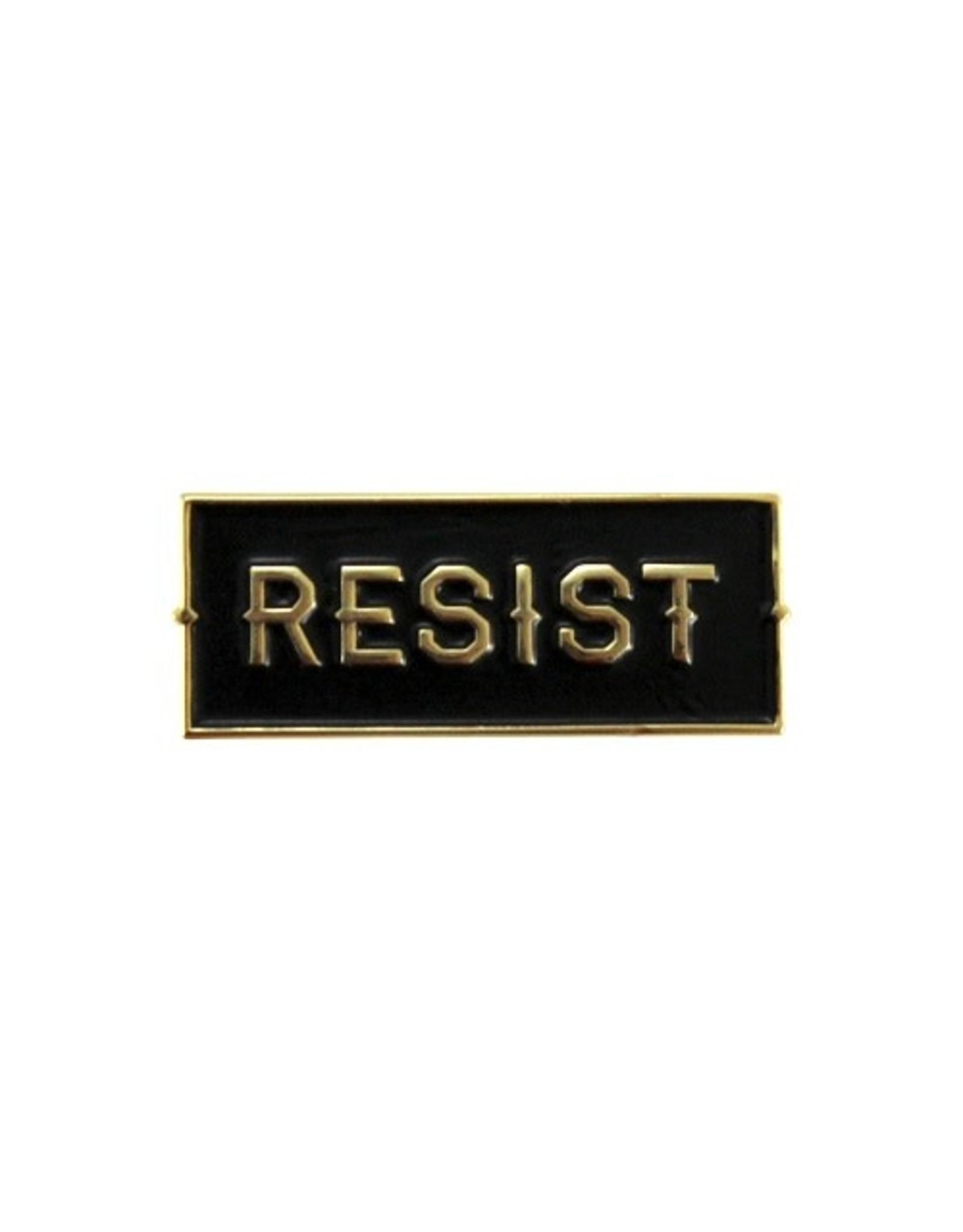 Enamel Pin RESIST Enamel Pin