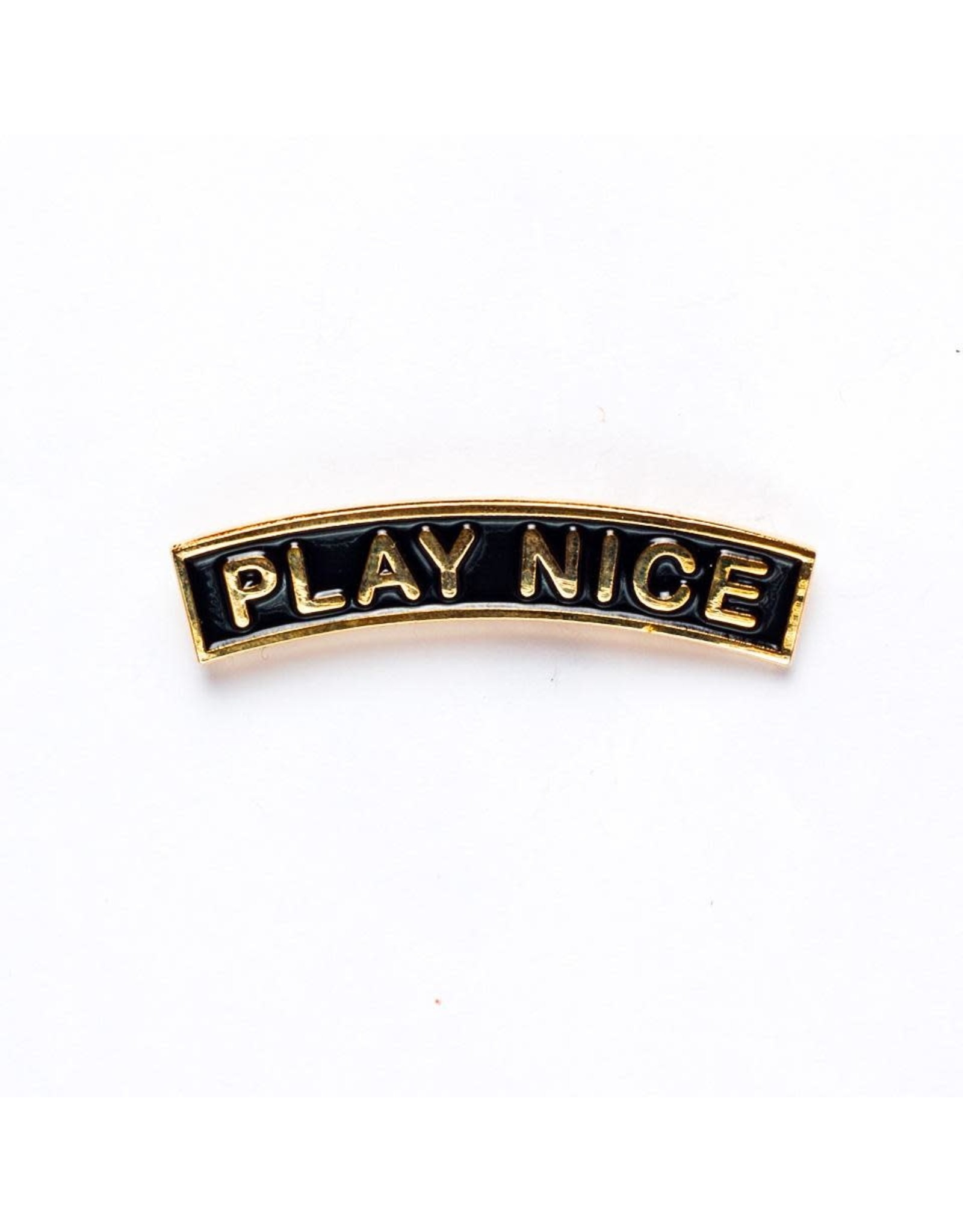 Enamel Pin Play Nice Enamel Pin