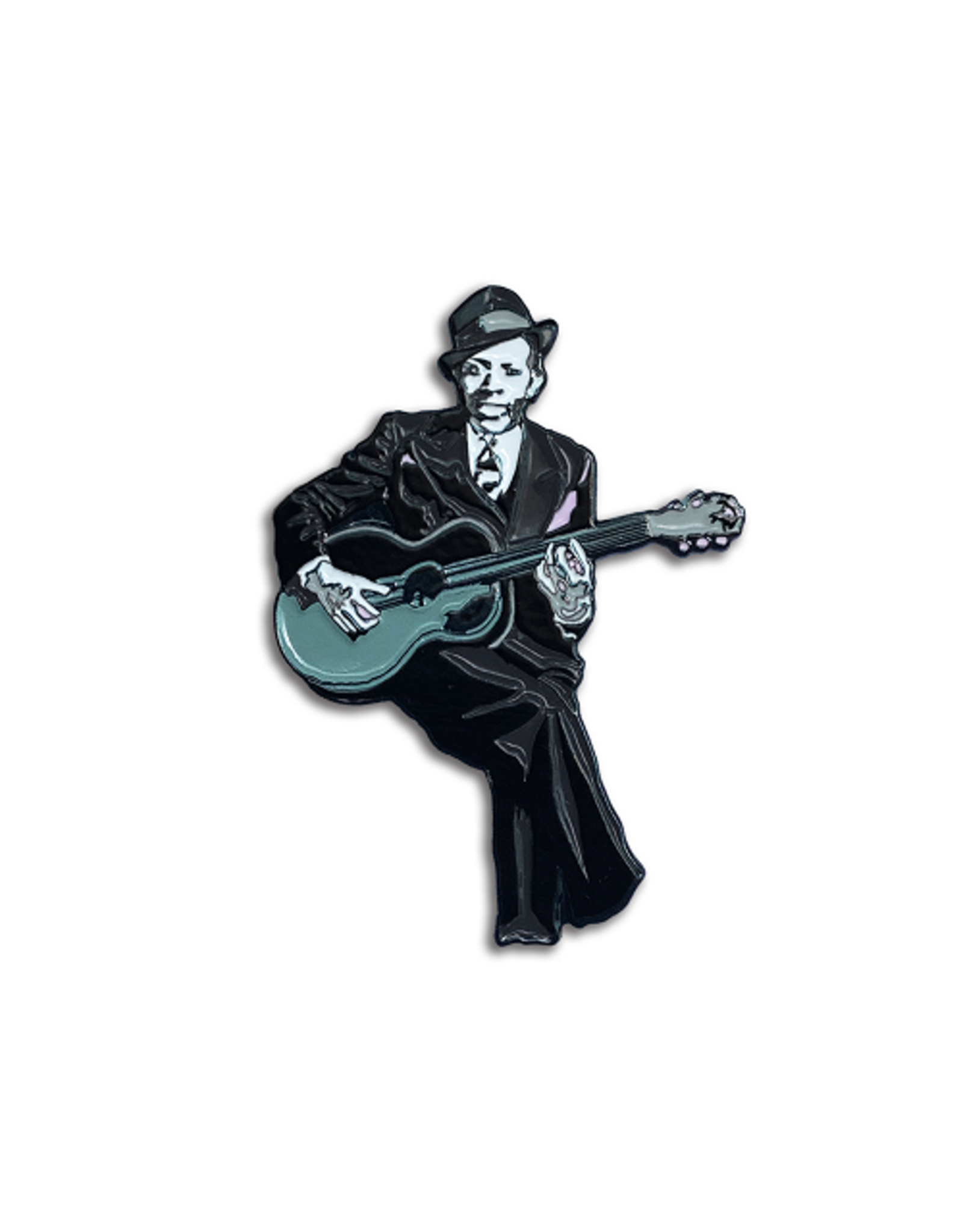 Enamel Pin Robert Johnson Pin