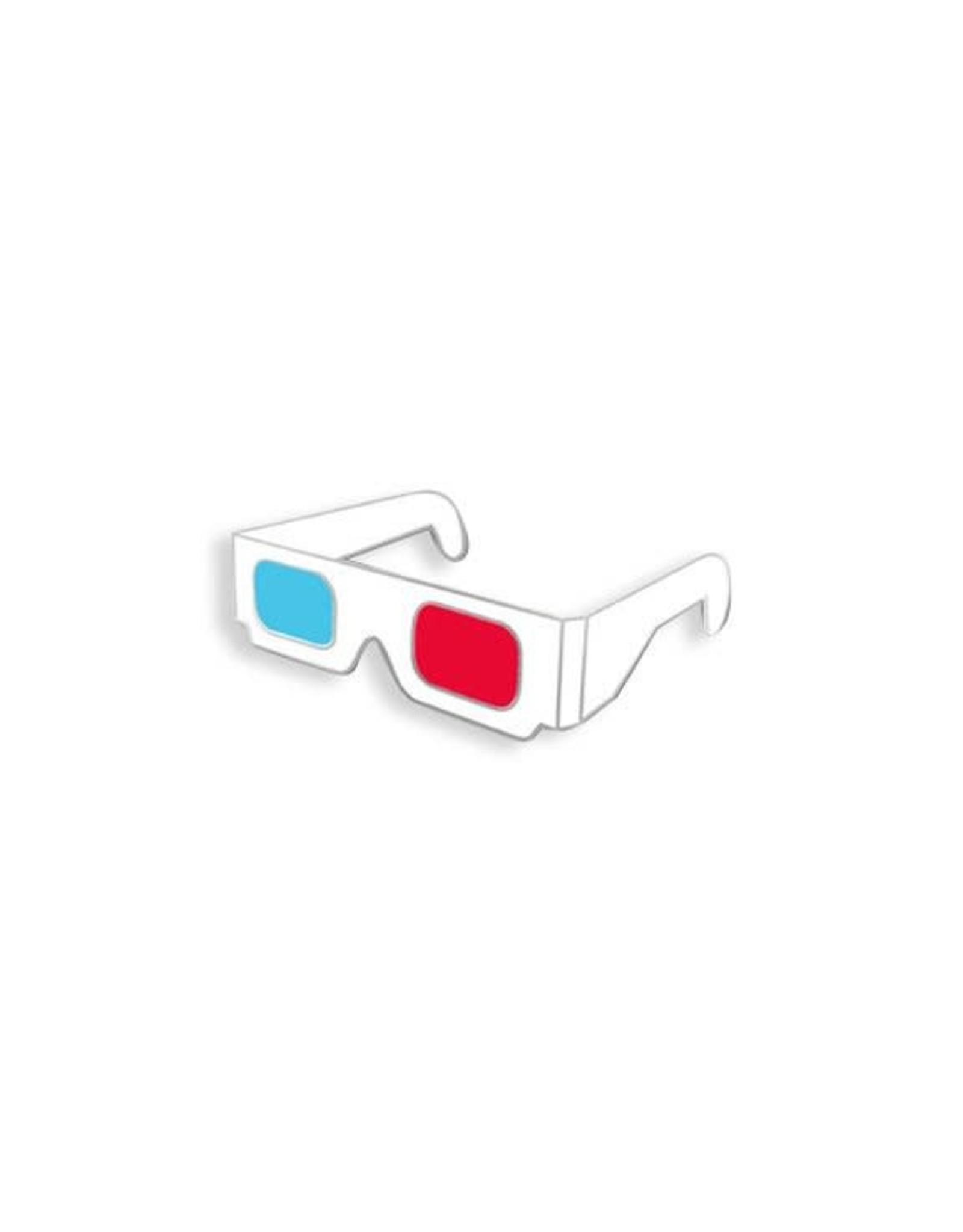 Enamel Pin 3D Glasses Enamel Pin