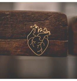 Enamel Pin Black Heart Enamel Pin