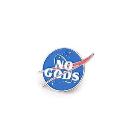 Enamel Pin No Gods Enamel Pin