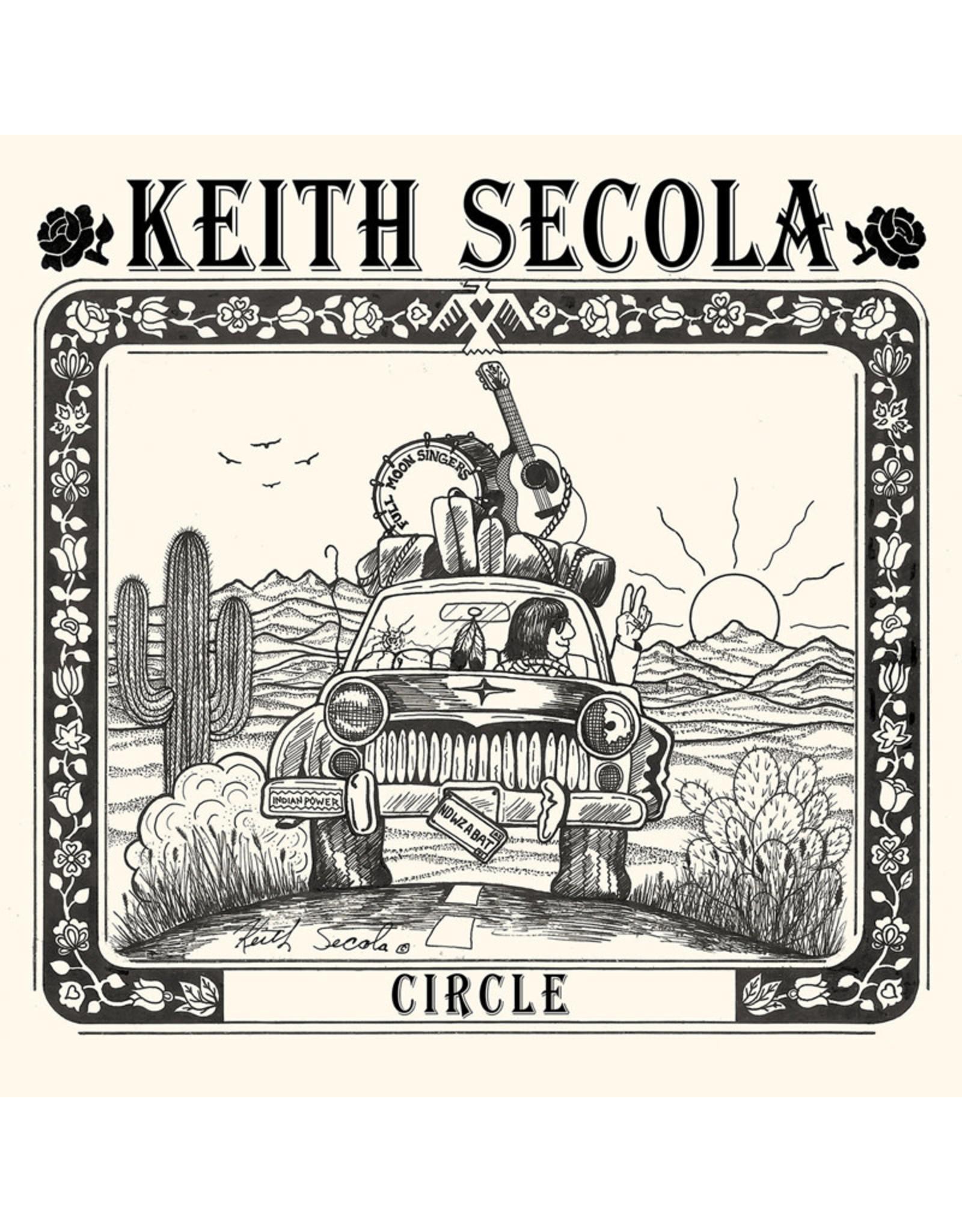 New Vinyl Keith Secola - Circle LP