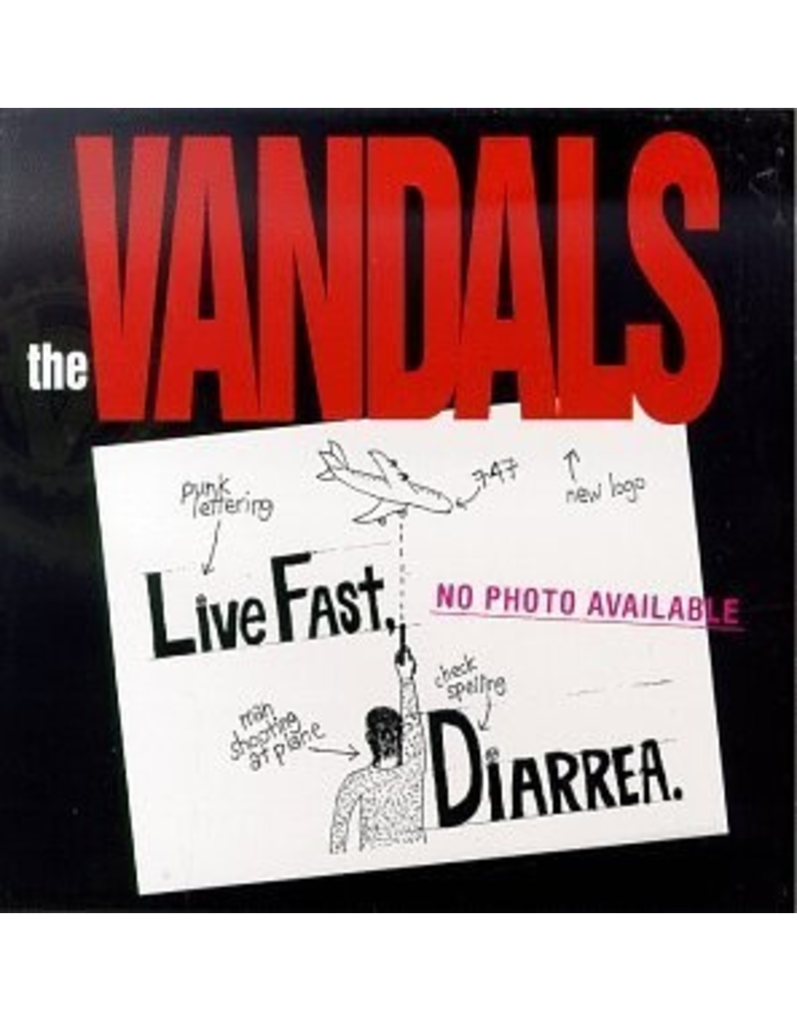 New Vinyl Vandals - Live Fast, Diarrhea (25th Anniversary, Colored) LP