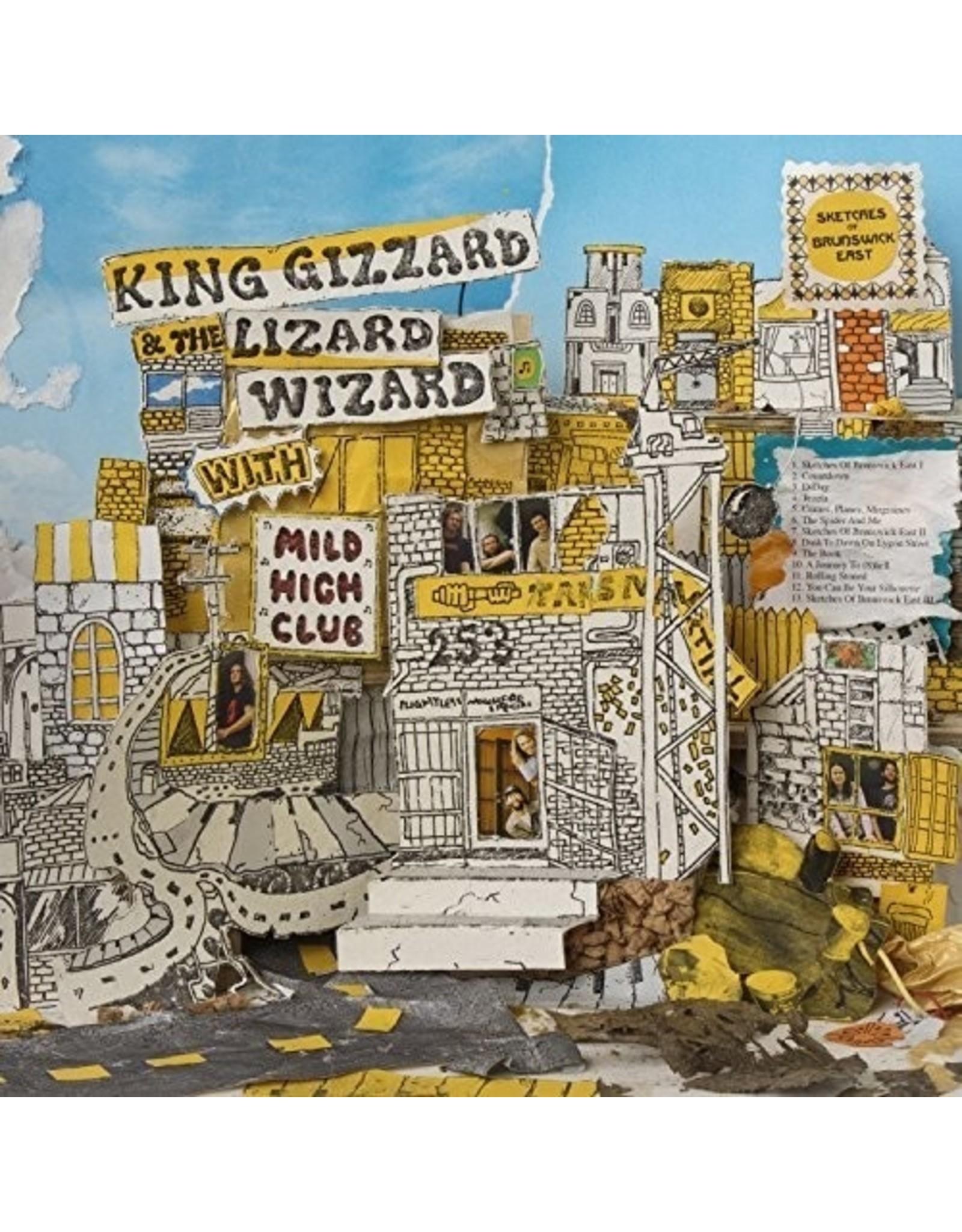 New Vinyl King Gizzard & The Lizard Wizard w/ Mild High Club - Sketches Of Brunswick East LP