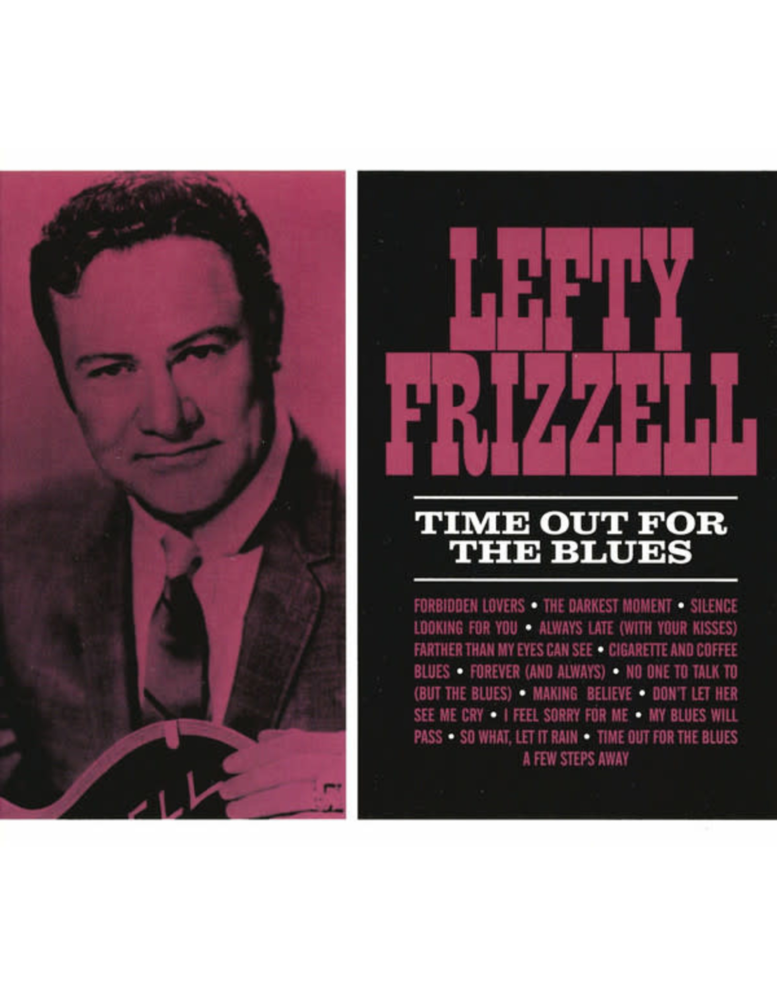 New Vinyl Lefty Frizzell - Time Out For The Blues LP