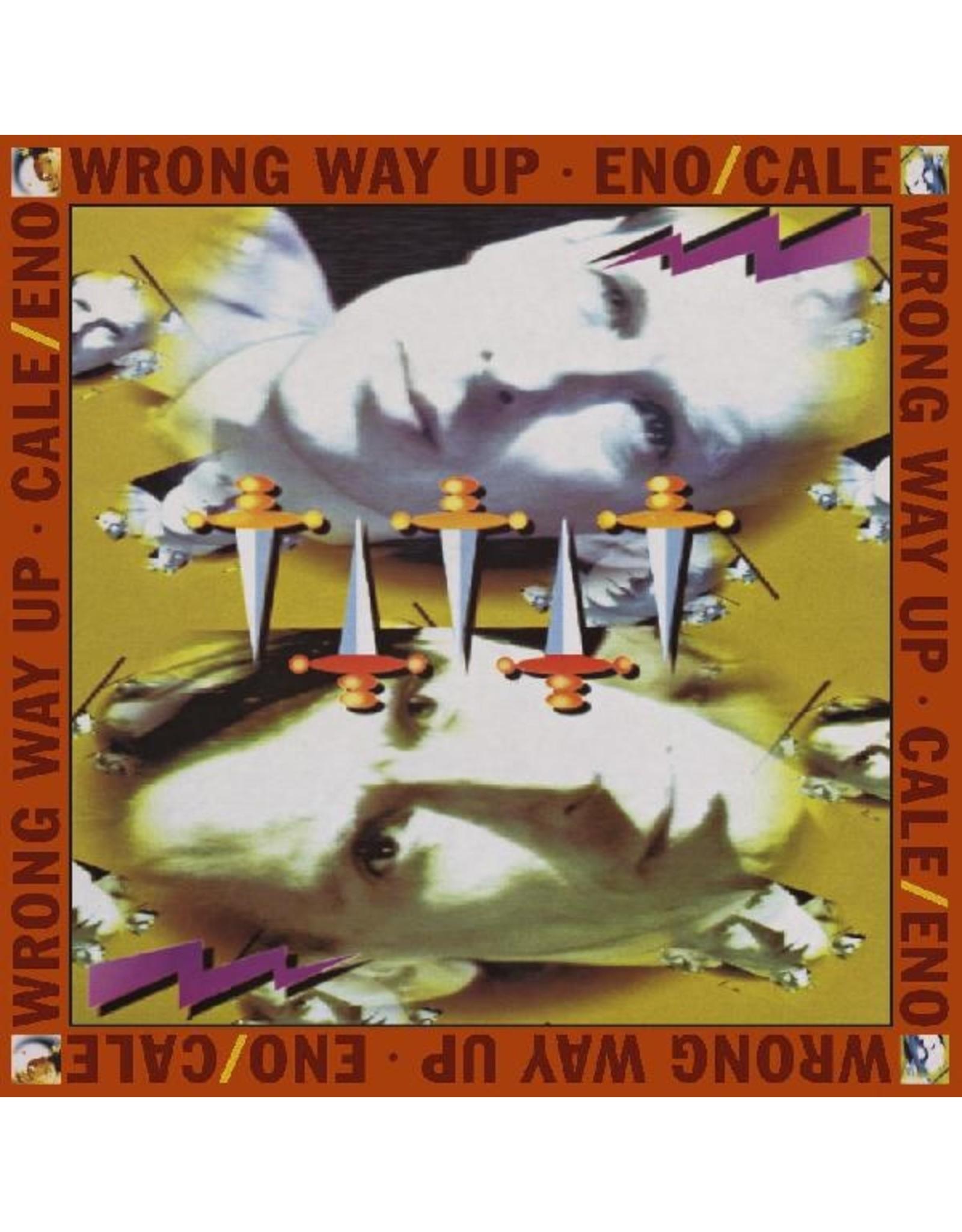 New Vinyl Brian Eno & John Cale - Wrong Way Up LP
