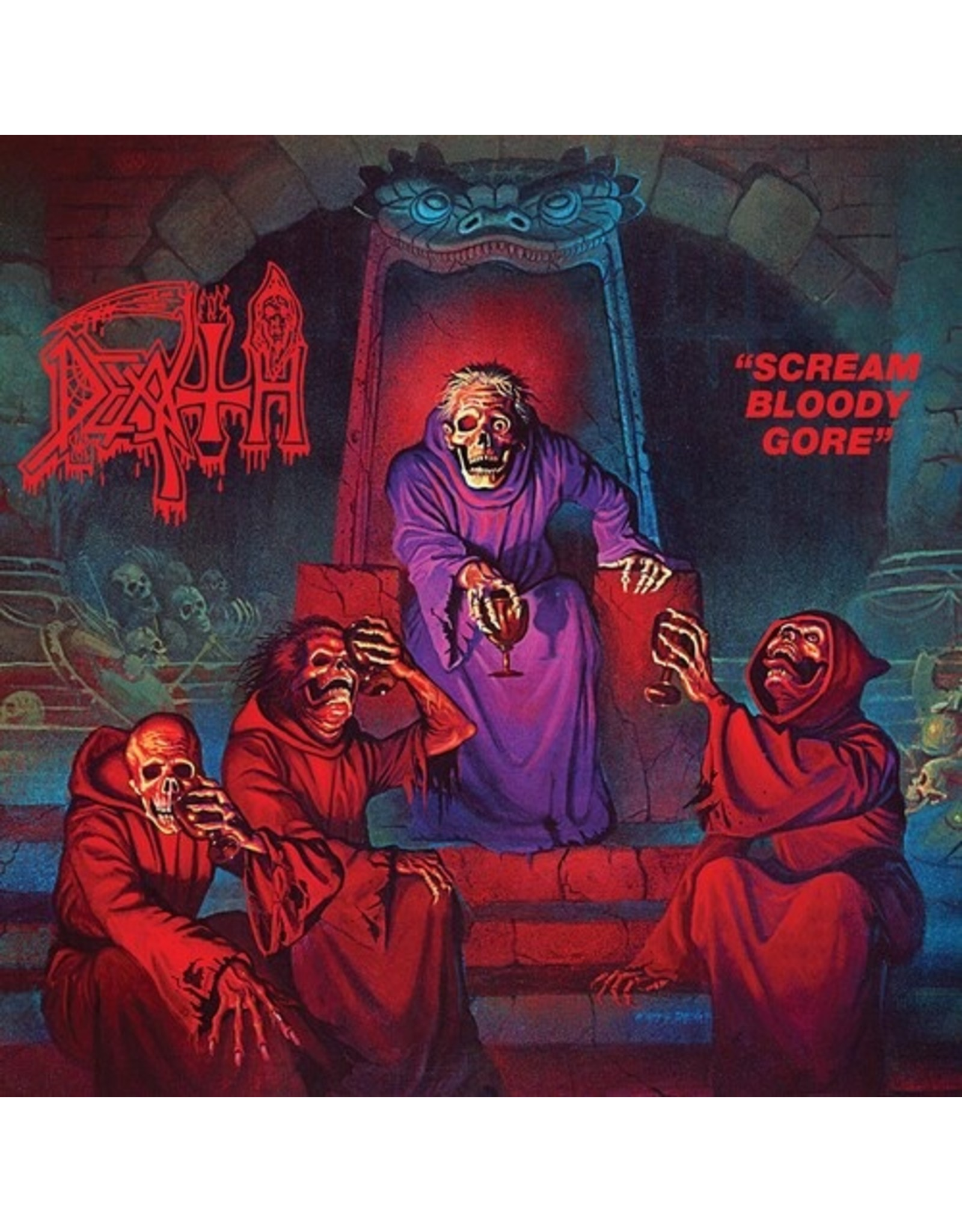 New Vinyl Death - Scream Bloody Gore (Colored) LP