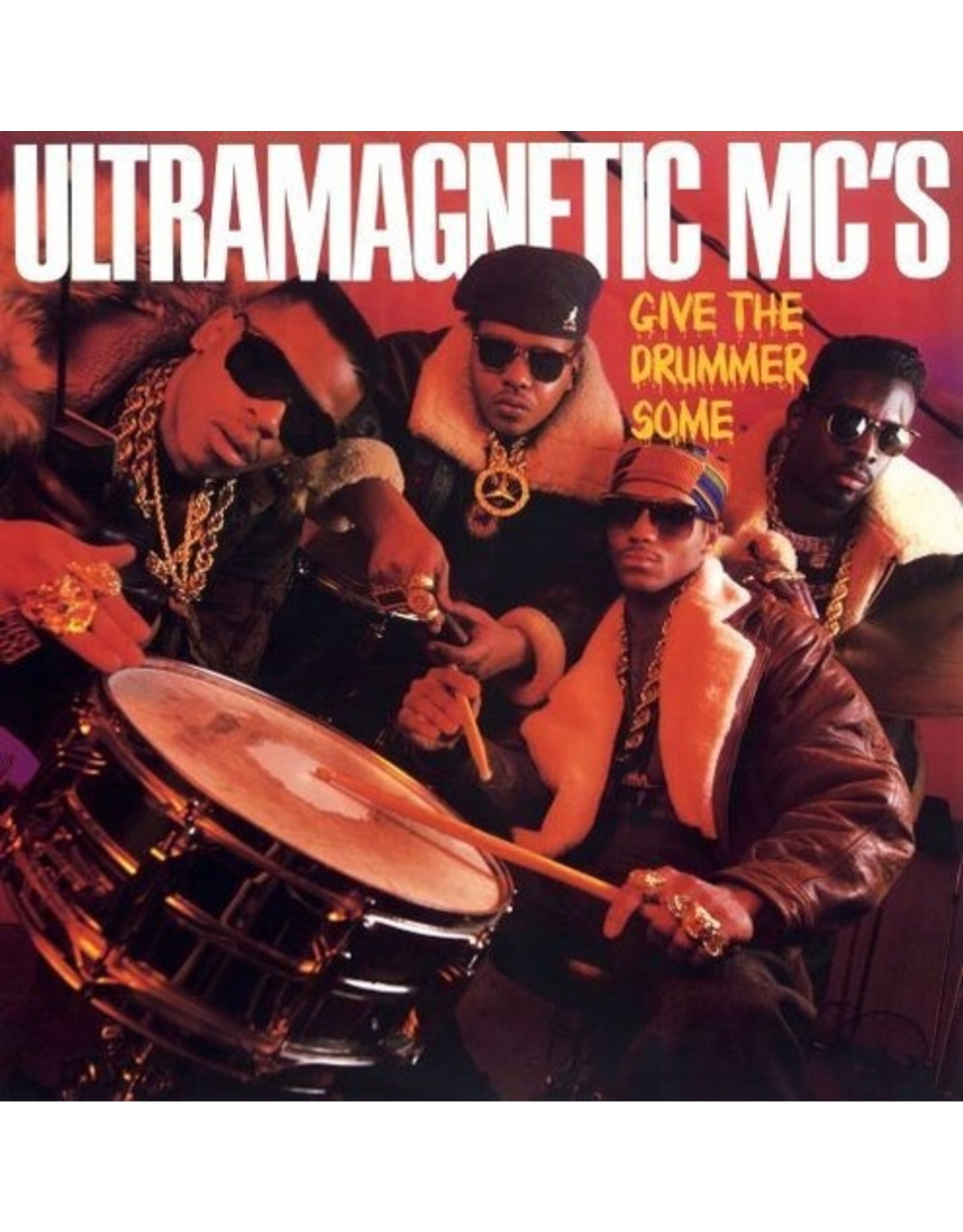 New Vinyl Ultramagnetic MC's - Give The Drummer Some 7""