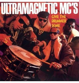 """New Vinyl Ultramagnetic MC's - Give The Drummer Some 7"""""""