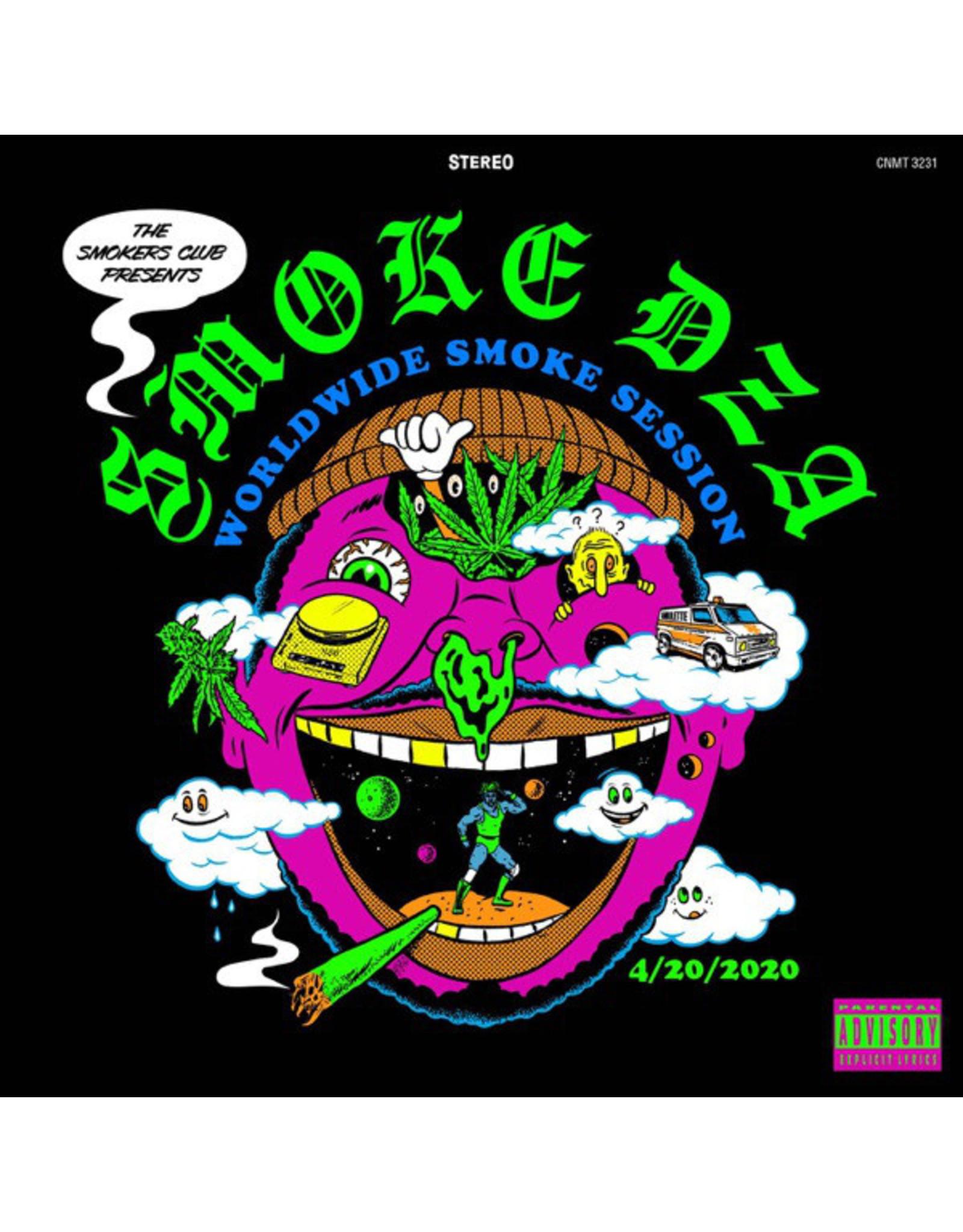 New Vinyl Smoke DZA - Worldwide Smoke Session (Glow In The Dark) LP