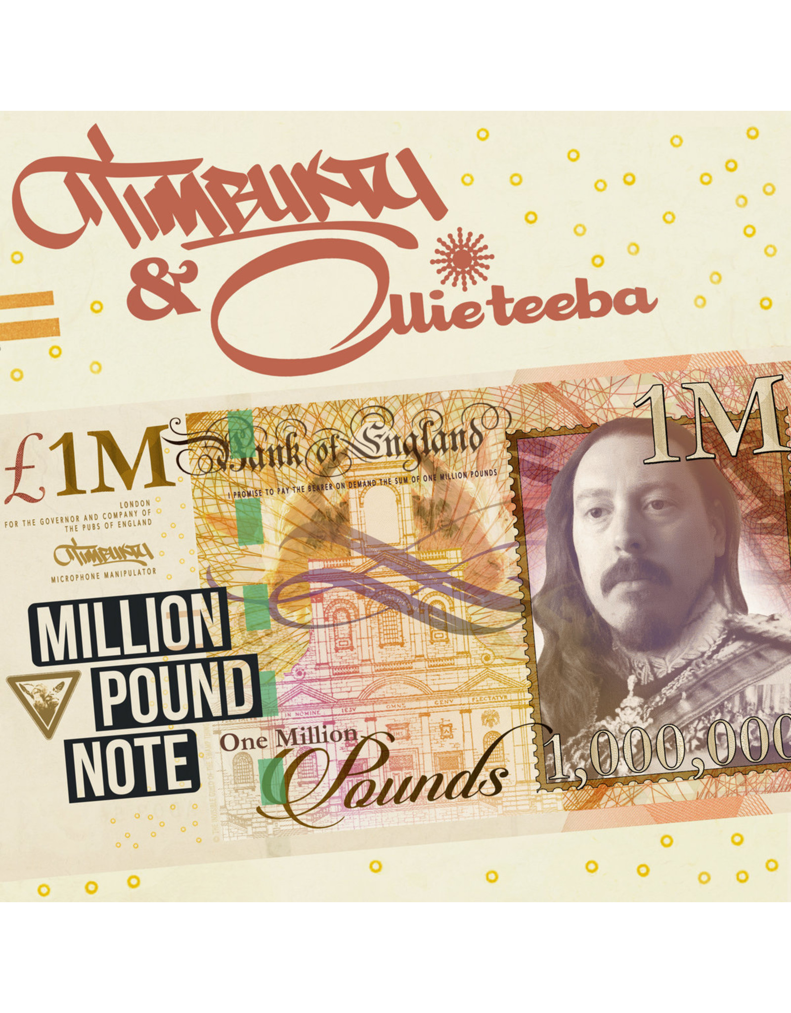 New Vinyl Timbuktu & Ollie Teeba - Million Pound Note (Colored) LP