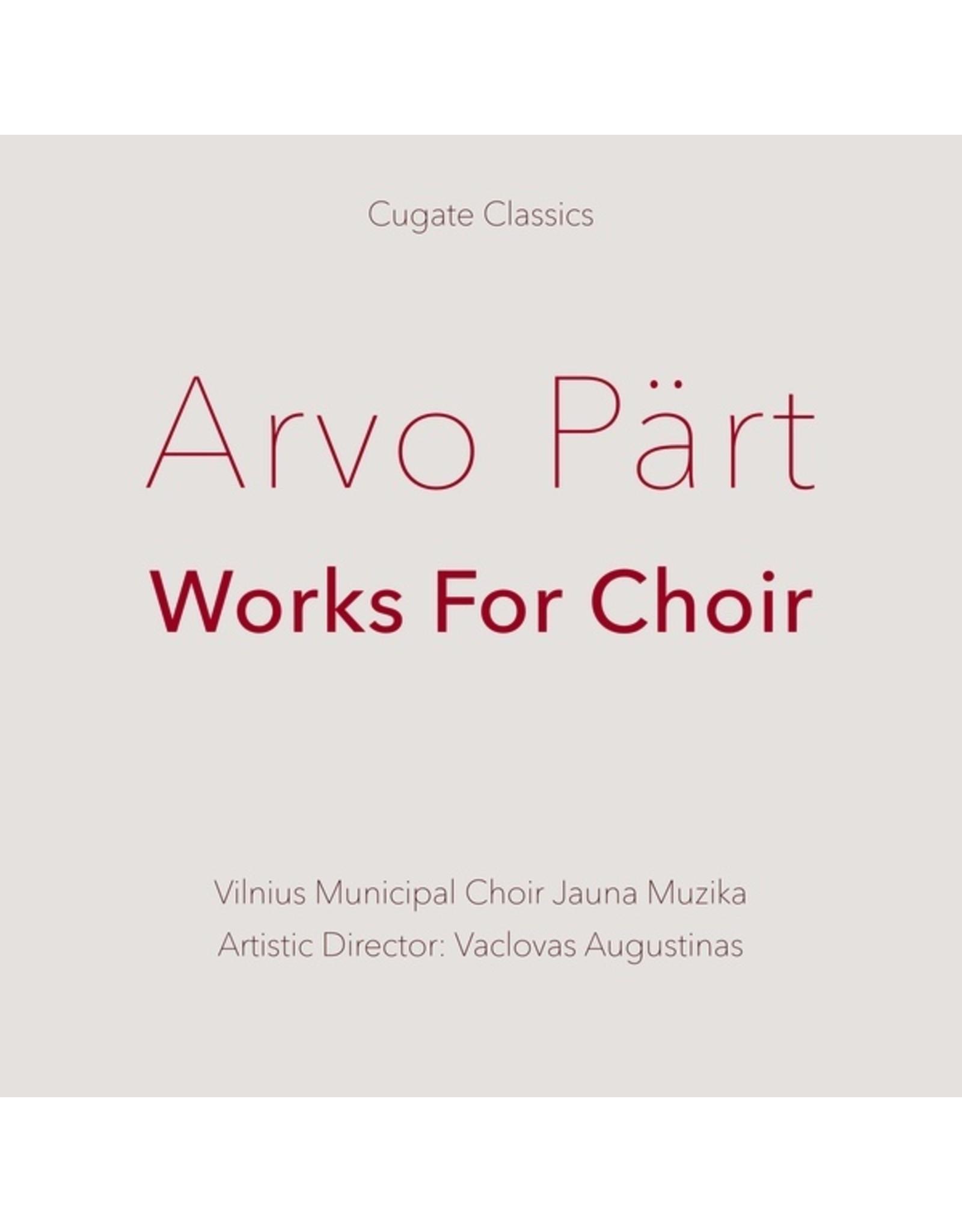 New Vinyl Arvo Pärt - Works For Choir LP