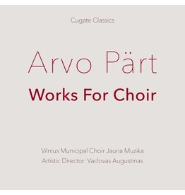 New Vinyl Arvo Pärt - Works For Choir LP