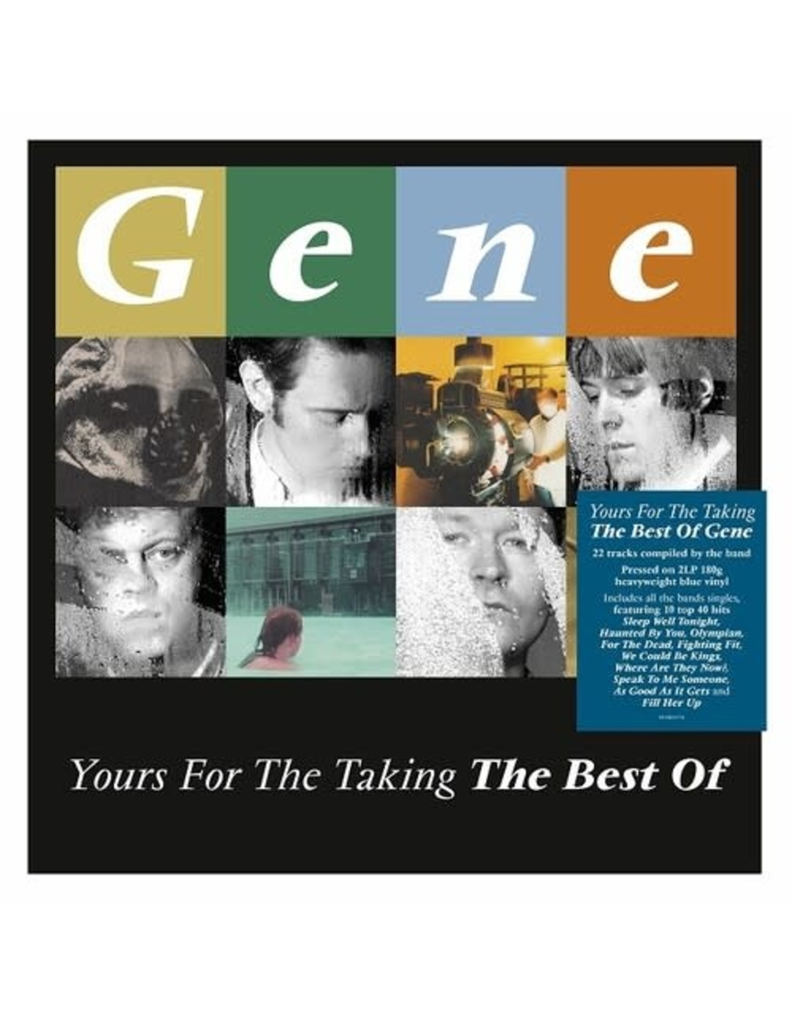 New Vinyl Gene - Yours For The Taking: The Best Of (Import, Colored) 2LP