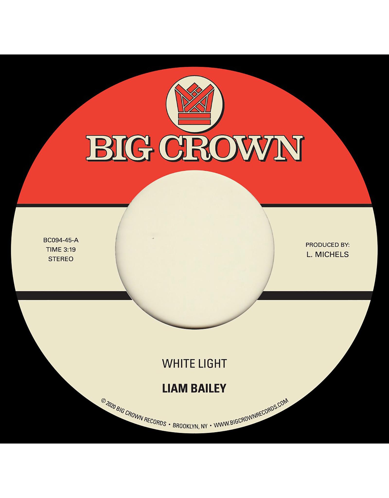 """New Vinyl Liam Bailey - White Light 7"""""""