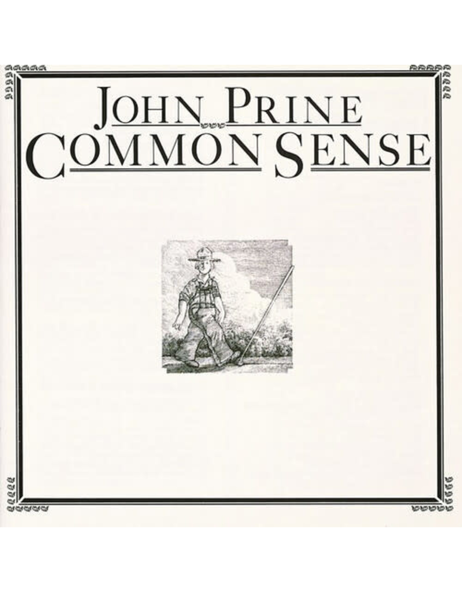 New Vinyl John Prine - Common Sense LP