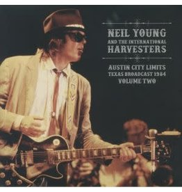New Vinyl Neil Young & The International Harvesters - Austin City Limits Texas Braodcast 1984 Vol. 1 2LP