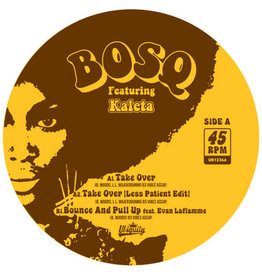 """New Vinyl Bosq ft. Kaleta – Take Over b/w Bounce And Pull Up (Colored) 12"""""""