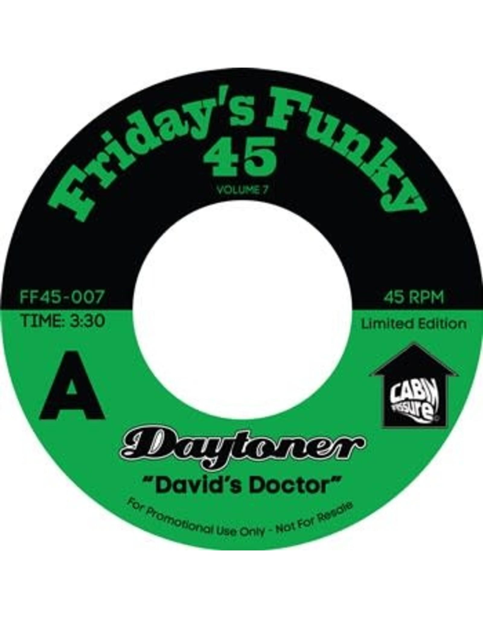"New Vinyl Daytoner - David's Doctor b/w Ooh Lalo 7"""
