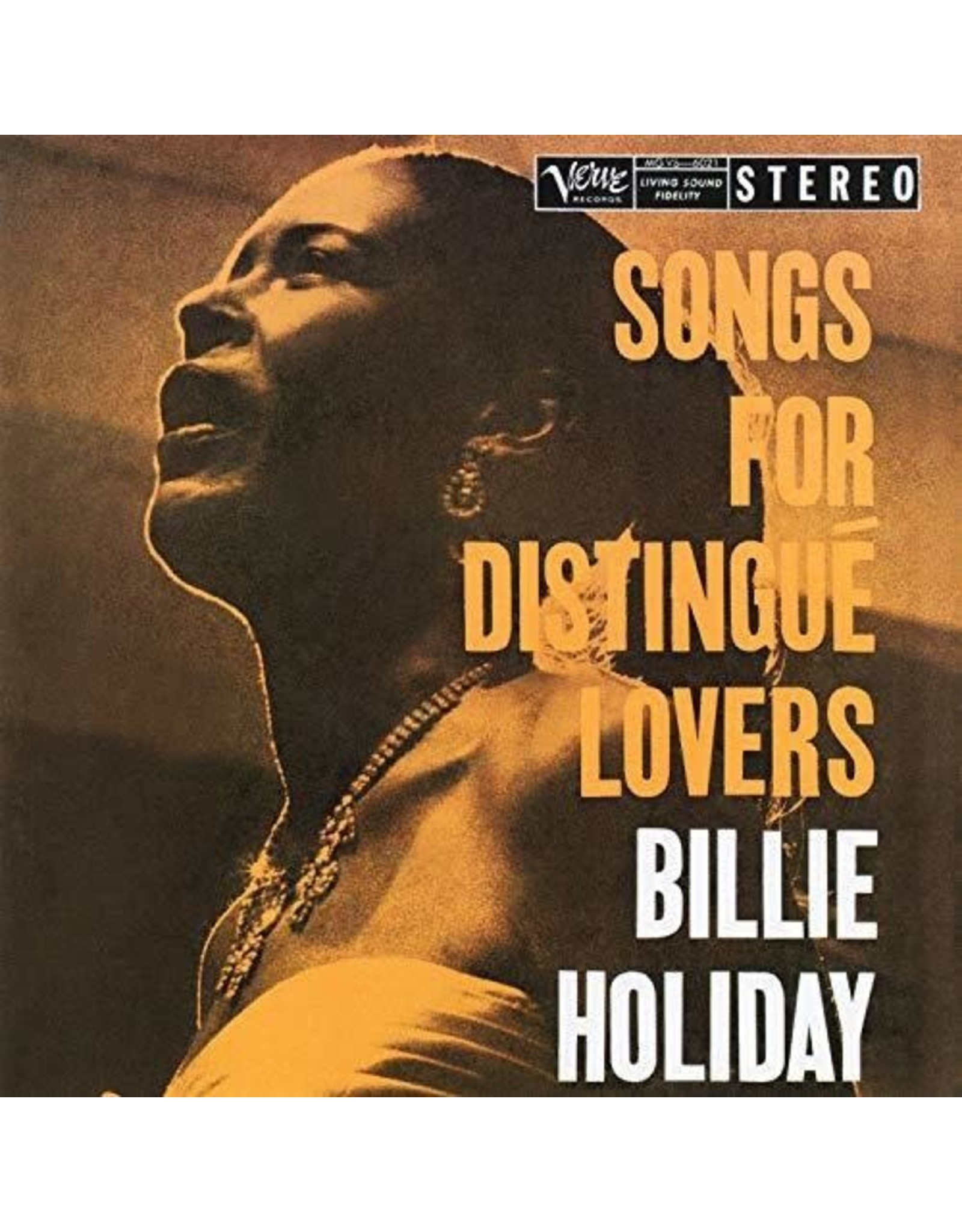 New Vinyl Billie Holiday - Songs For Distingue Lovers LP