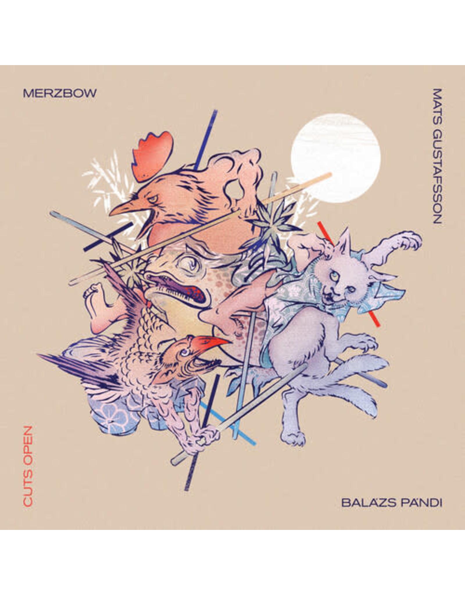 New Vinyl Merzbow / Gustafsson / Pandi - Cuts Open (Colored) 2LP