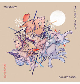 New Vinyl Merzbow / Gustafsson / Pandi - Cuts Open (Colored) 2LP