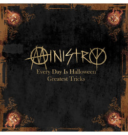 New Vinyl Ministry - Every Day Is Halloween: Greatest Tricks (Colored) LP