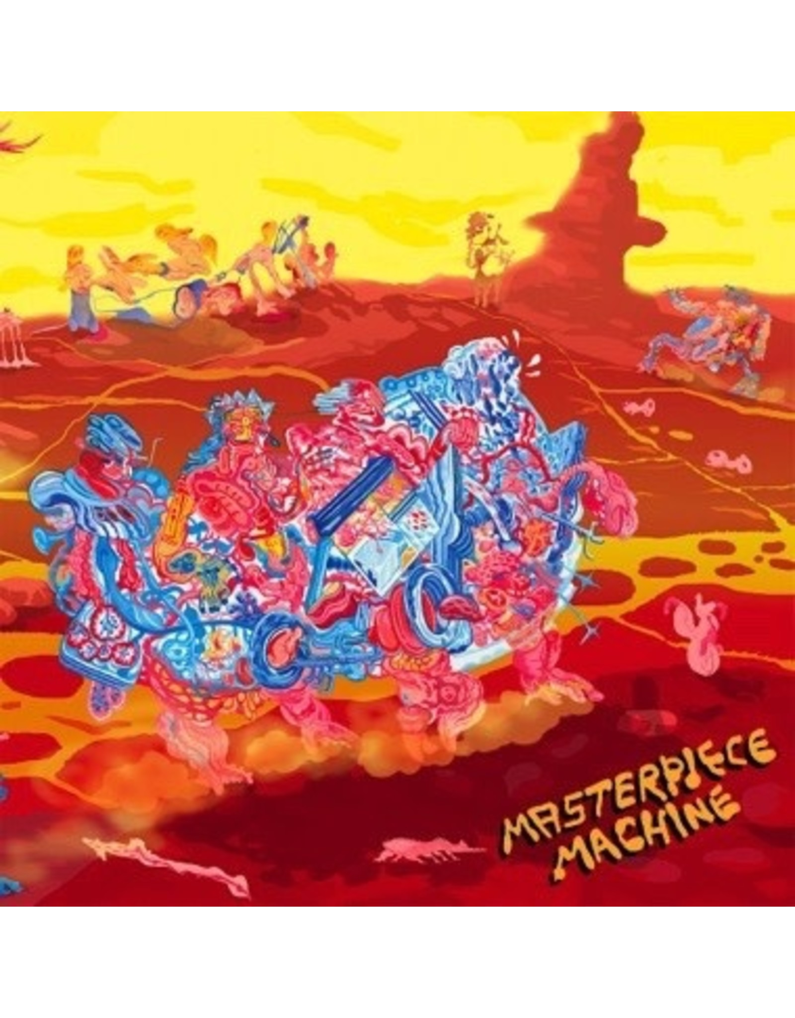 """New Vinyl Masterpiece Machine - Rotting Fruit / Letting You In On A Secret 12"""""""