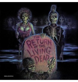 New Vinyl Various - Return Of The Living Dead OST (Clear/Splatter) LP