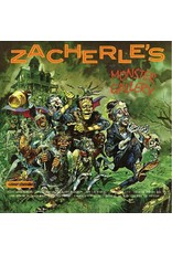 New Vinyl Zacherle - Zacherle's Monster Gallery (Clear with Pumpkin Splatter) LP