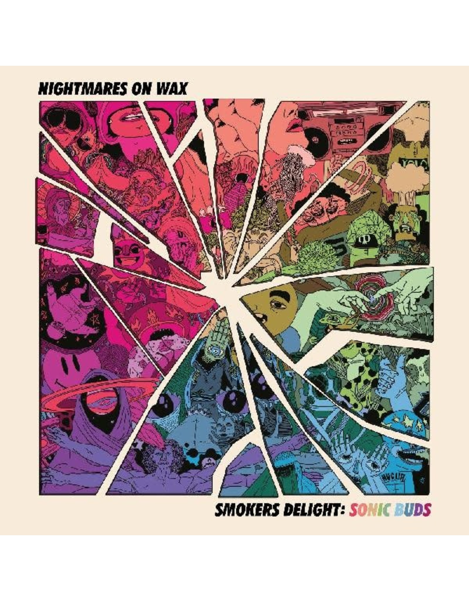 New Vinyl Nightmares On Wax - Smokers Delight: Sonic Buds EP 12""