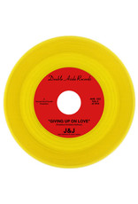 New Vinyl J&J - Giving Up On Love b/w The Town I Live In (Yellow) 7""
