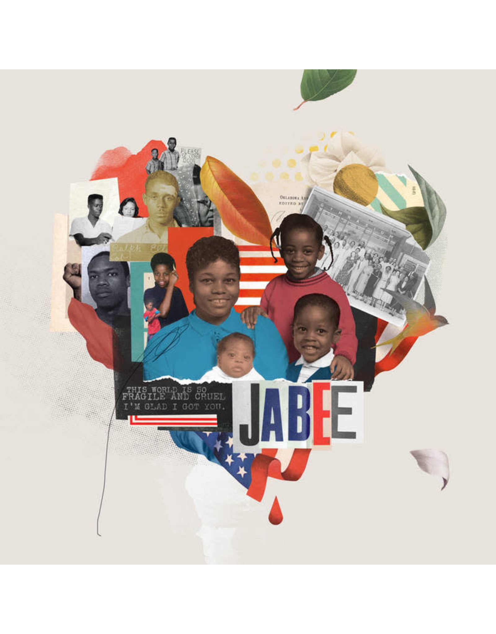 New Vinyl Jabee - The World Is So Fragile & Cruel I'm Glad I Got You 2LP